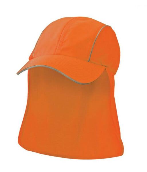 4371 side front hi vis orange