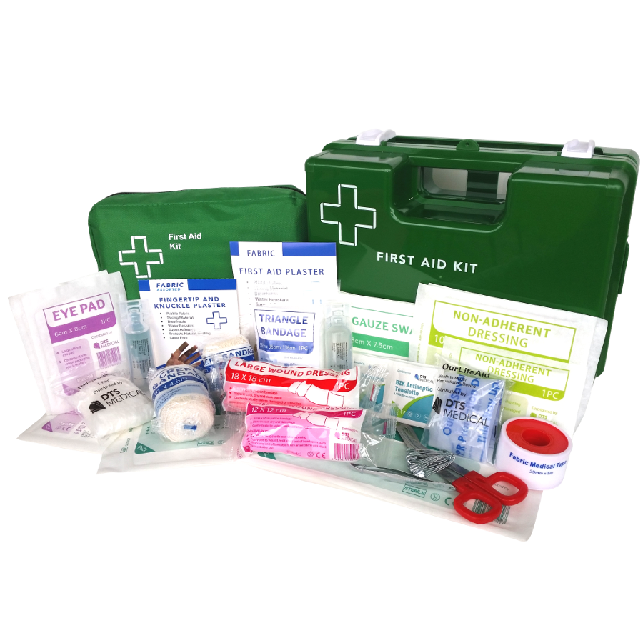 first aid kit 1 to 25 soft pack or wall mount