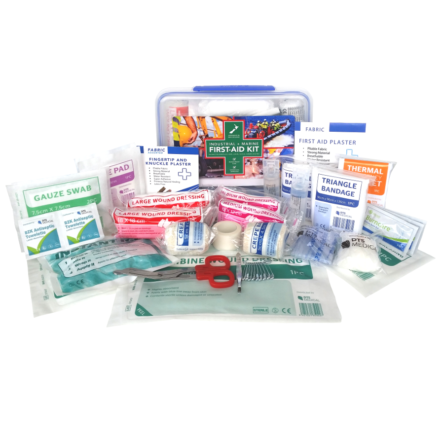 marine and industrial first aid kit