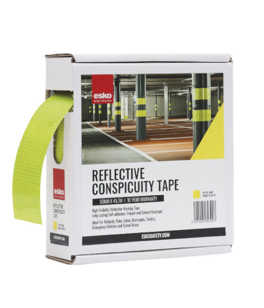 SI-RT-FL fluoro lime conspicuity tape box