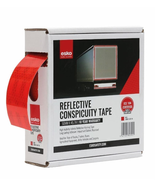 SI-RT red conspicuity tape box
